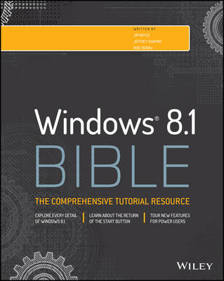 Windows 8.1 Bible (BOK)