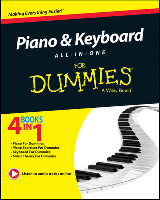 Piano and Keyboard All-in-One For Dummies (BOK)