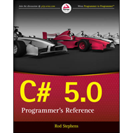 C# 5.0 Programmer's Reference (BOK)