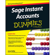Sage Instant Accounts For Dummies (BOK)