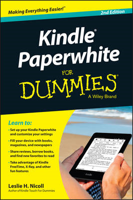 Kindle Paperwhite For Dummies (BOK)