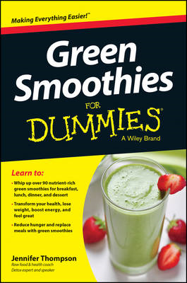 Green Smoothies For Dummies (BOK)