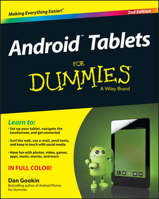 Android Tablets For Dummies (BOK)