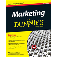 Marketing for Dummies, 4th Edition (BOK)