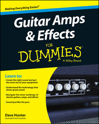 Guitar Amps & Effects For Dummies (BOK)