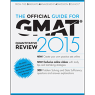Official Guide for GMAT Quantitative Review 2015 With Online (BOK)