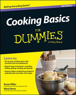 Cooking Basics for Dummies, 5th Edition (BOK)