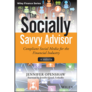 Socially Savvy Advisor + Website (BOK)