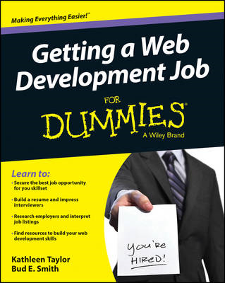 Getting a Web Development Job For Dummies (BOK)
