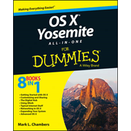 OS X Yosemite All-in-One For Dummies (BOK)