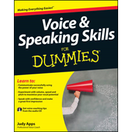 Voice and Speaking Skills For Dummies (BOK)