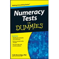 Numeracy Tests for Dummies (BOK)