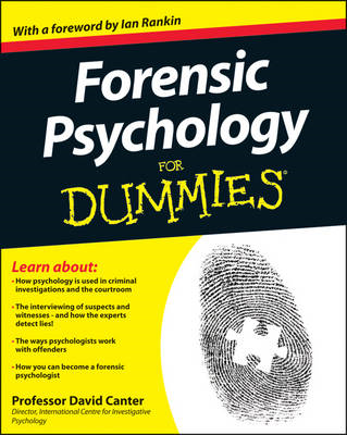 Forensic Psychology for Dummies (BOK)