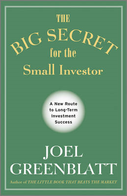 Big Secret for the Small Investor (BOK)