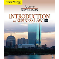 Cengage Advantage Books: Introduction to Business Law (BOK)