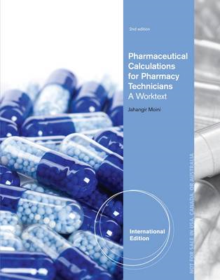 Pharmaceutical Calculations For Pharmacy Technicians (BOK)