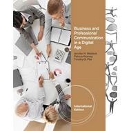 Business And Professional: Communication in a Digital Age (BOK)