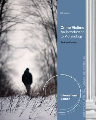 Crime Victims: An Introduction to Victimology (BOK)