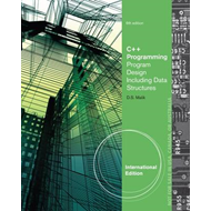 C++ Programming: Program Design Including Data Structures (BOK)