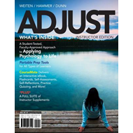ADJUST (with CourseMate, 1 term (6 months) Printed Access Ca (BOK)