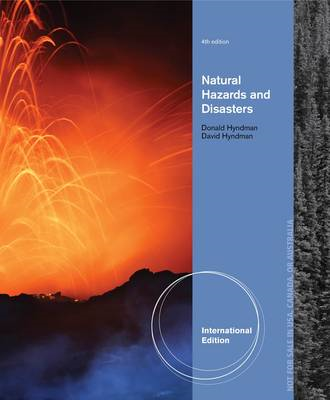 Natural Hazards and Disasters, International Edition (BOK)