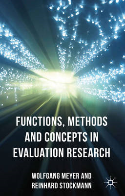 Functions, Methods and Concepts in Evaluation Research (BOK)