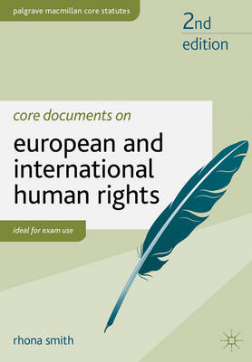 Core Documents on European and International Human Rights (BOK)