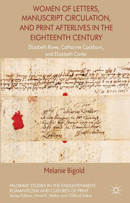 Women of Letters, Manuscript Circulation, and Print Afterliv (BOK)