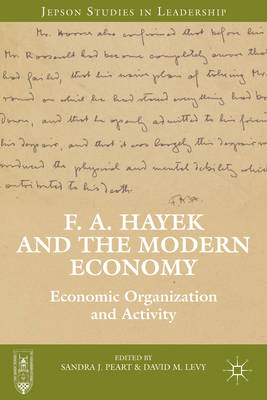 F. A. Hayek and the Modern Economy (BOK)