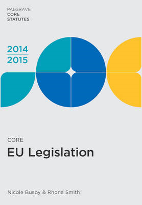 Core EU Legislation 2014-15 (BOK)