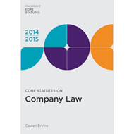 Core Statutes on Company Law 2014-15 (BOK)