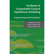 Textbook of Computable General Equilibrium Modeling (BOK)