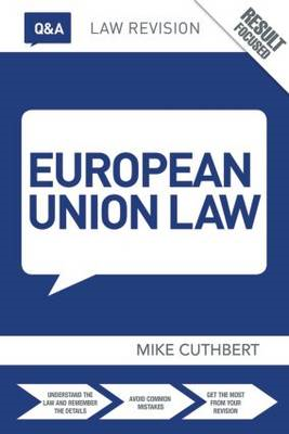 Q&A European Union Law (BOK)