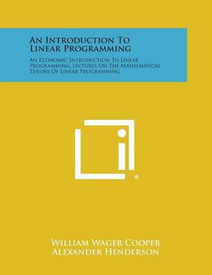 Introduction to Linear Programming (BOK)