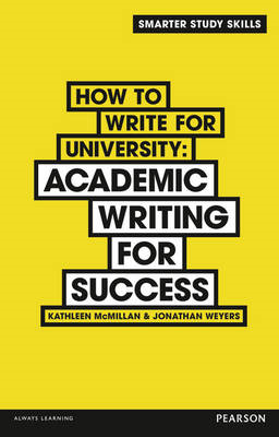 How to Write for University (BOK)