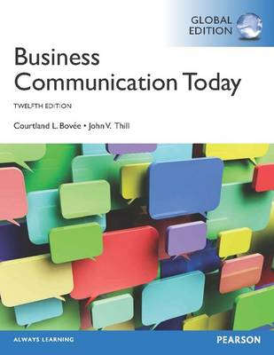 Business Communication Today with MyBcommLab (BOK)