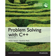 Problem Solving with C++, Global Edition (BOK)