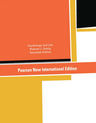 Psychology and Life: Pearson New International Edition (BOK)