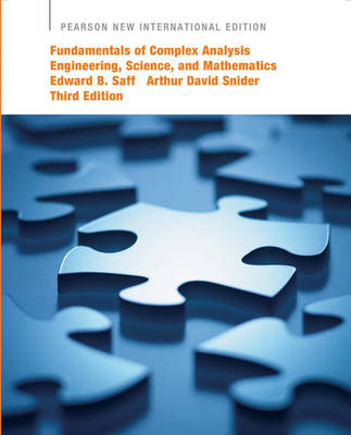 Fundamentals of Complex Analysis with Applications to Engineering, Science, and Mathematics (BOK)