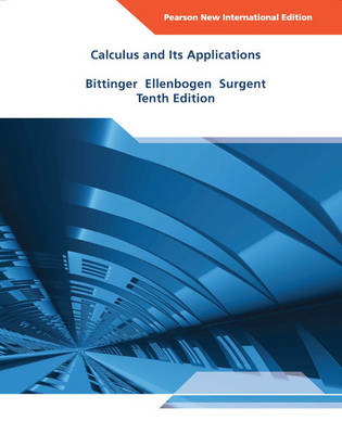 Calculus and Its Applications (BOK)