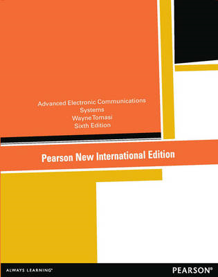 Advanced Electronic Communications Systems: United States Edition (BOK)