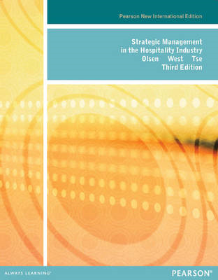 Strategic Management in the Hospitality Industry: Pearson Ne (BOK)
