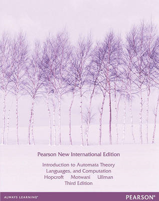 Introduction to Automata Theory, Languages, and Computation: (BOK)