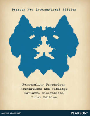 Personality Psychology: Foundations and Findings (BOK)