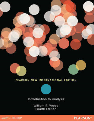 Introduction to Analysis: Pearson New International Edition (BOK)
