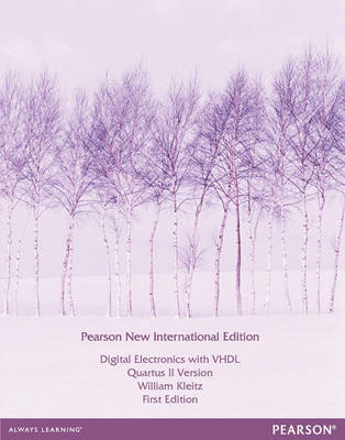 Digital Electronics with VHDL (Quartus II Version) (BOK)