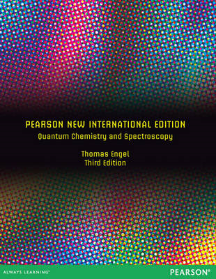 Quantum Chemistry and Spectroscopy (BOK)