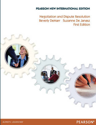 Negotiation and Dispute Resolution: Pearson New Internationa (BOK)