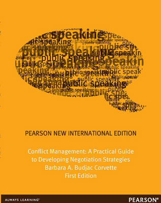 Conflict Management: A Practical Guide to Developing Negotiation Strategies (BOK)