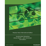 Sustainable Marketing: Pearson New International Edition (BOK)